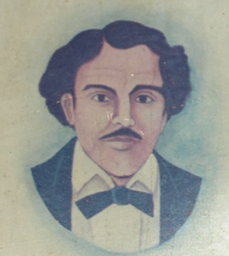 Enmanuel Mongalo y Rubio, pintura del austriaco Juan Fuchs Holl.