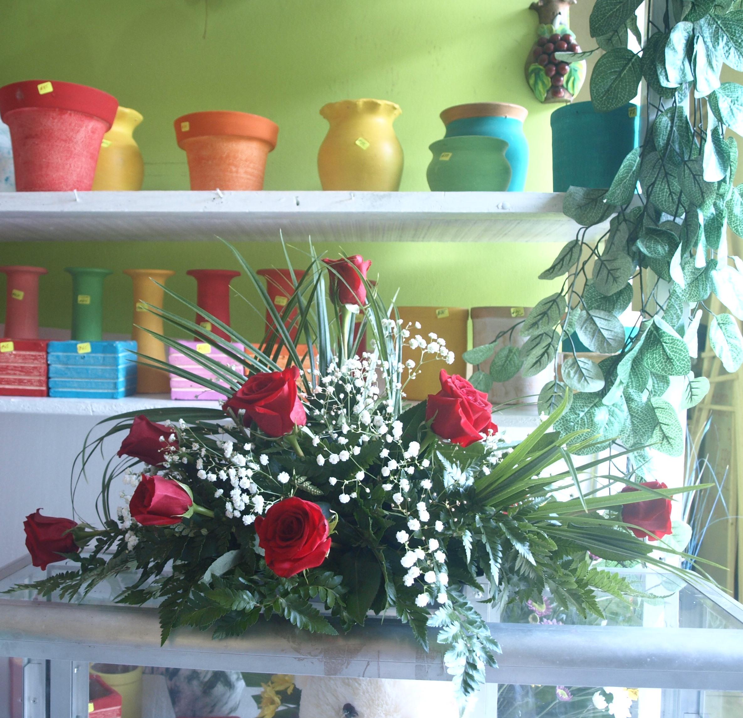 Arreglos florales innovadores Rosa Sharon | Nicaraocalli