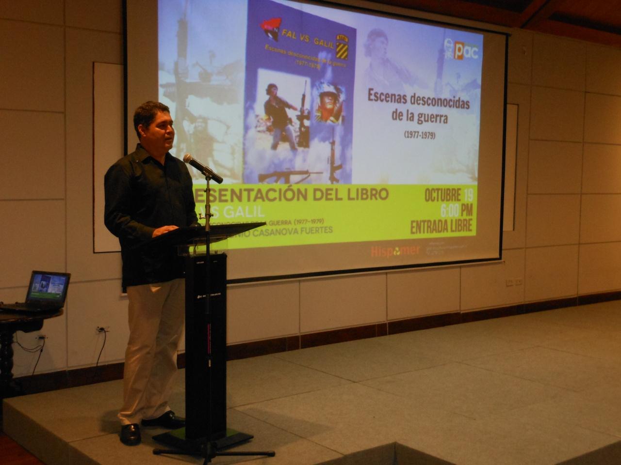 Casanova Marcos, presenta su libro en Managua   Nicaraocalli